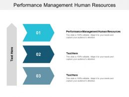 Performance Management Human Resources Ppt Powerpoint Presentation Styles Guidelines Cpb