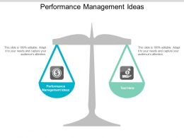 Performance Management Ideas Ppt Powerpoint Presentation Summary Slides Cpb