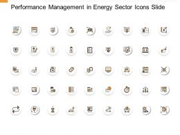Performance Management In Energy Sector Icons Slide Agenda Ppt Powerpoint Presentation