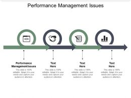 Performance Management Issues Ppt Powerpoint Presentation Model Background Image Cpb