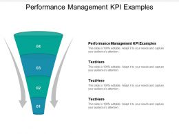 Performance Management KPI Examples Ppt Powerpoint Presentation Layouts Inspiration Cpb
