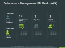 Performance Management Kpi Metrics Objectives Ppt Powerpoint Presentation Inspiration Picture