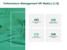 Performance Management KPI Metrics Planning A258 Ppt Powerpoint Presentation Slides Visuals