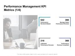 Performance Management KPI Metrics Reviews Ppt Powerpoint Presentation Slide