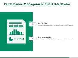 Performance Management KPIs And Dashboard A259 Ppt Powerpoint Presentation Icon Example