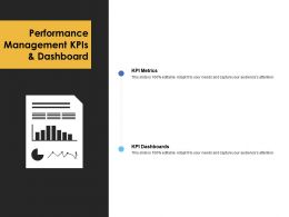 Performance Management KPIS And Dashboard KPI Metrics A240 Ppt Powerpoint Presentation