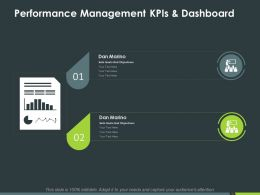 Performance Management Kpis And Dashboard Ppt Powerpoint Presentation Inspiration Rules