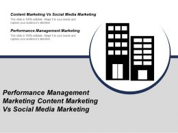 Performance Management Marketing Content Marketing Vs Social Media Marketing Cpb