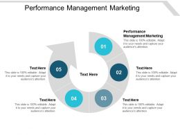 Performance Management Marketing Ppt Powerpoint Presentation Infographic Template Master Slide Cpb