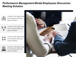 performance management model employees discussion meeting solution