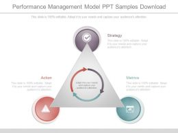 Performance Management Model Ppt Samples Download