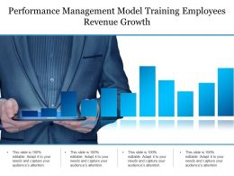 performance management model training employees revenue growth