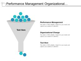 Performance Management Organizational Change Sole Proprietorship Business Startup Business Cpb