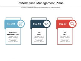 Performance Management Plans Ppt Powerpoint Presentation Portfolio Example Cpb