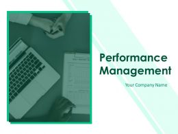 Performance Management Powerpoint Presentation Slides