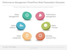 Performance Management Powerpoint Slide Presentation Examples