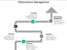 Performance Management Ppt Powerpoint Presentation Layouts Brochure Cpb