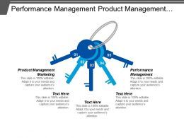 Performance Management Product Management Marketing Product Management Strategies Cpb