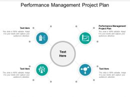 Performance Management Project Plan Ppt Powerpoint Presentation Styles Elements Cpb
