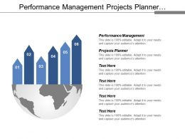Performance Management Projects Planner Business Strategy Business Performance Cpb