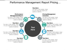 Performance Management Report Pricing Management Solutions Products Strategy Cpb