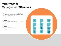 Performance Management Statistics Ppt Powerpoint Presentation Inspiration Infographic Template Cpb