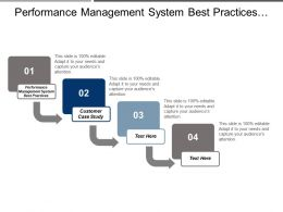 Performance Management System Best Practices Customer Case Study Cpb
