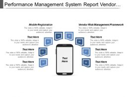 Performance Management System Report Vendor Risk Management Framework Cpb