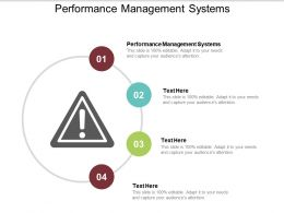 Performance Management Systems Ppt Powerpoint Presentation Ideas Tips Cpb