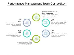 Performance Management Team Composition Ppt Powerpoint Presentation Inspiration Vector Cpb