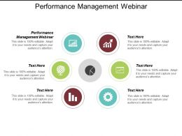 Performance Management Webinar Ppt Powerpoint Presentation Gallery Background Designs Cpb