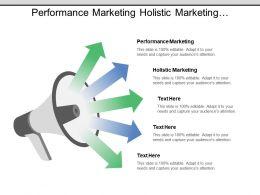 Performance Marketing Holistic Marketing Relationship Marketing Product Management