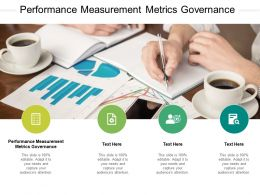Performance Measurement Metrics Governance Ppt Powerpoint Presentation Outline Cpb
