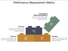 Performance Measurement Metrics Ppt Powerpoint Presentation Show Influencers Cpb