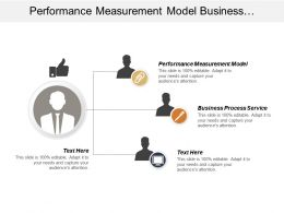 Performance Measurement Model Business Process Service Personalized Medicine