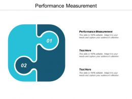 Performance Measurement Ppt Powerpoint Presentation Infographic Template Picture Cpb