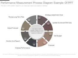 Performance Measurement Process Diagram Example Of Ppt