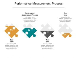 Performance Measurement Process Ppt Powerpoint Presentation Gallery Files Cpb
