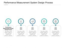 Performance Measurement System Design Process Ppt Powerpoint Gallery Cpb
