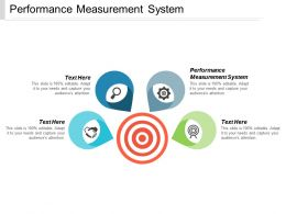 Performance Measurement System Ppt Powerpoint Presentation Portfolio Show Cpb