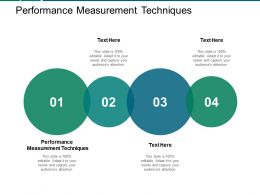 Performance Measurement Techniques Ppt Powerpoint Presentation Inspiration Cpb