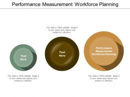 Performance Measurement Workforce Planning Ppt Powerpoint Presentation Show Outline Cpb
