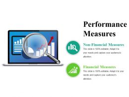 Performance Measures Powerpoint Slide Presentation Sample