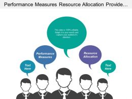 Performance Measures Resource Allocation Provide Extremely Positive Customer