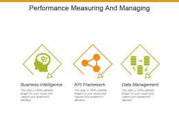 Performance Measuring And Managing Powerpoint Slide Designs Download