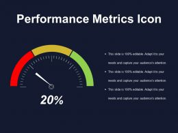 Performance Metrics Icon Powerpoint Images
