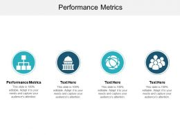Performance Metrics Ppt Powerpoint Presentation Show Ideas Cpb