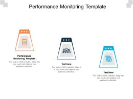 Performance Monitoring Template Ppt Powerpoint Presentation File Slide Download Cpb
