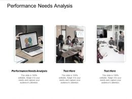 Performance Needs Analysis Ppt Powerpoint Presentation Gallery Design Ideas Cpb