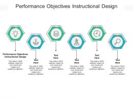 Performance Objectives Instructional Design Ppt Powerpoint Presentation Outline Background Image Cpb